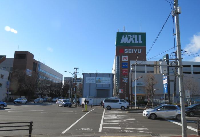 太白区役所とザ・モール仙台長町