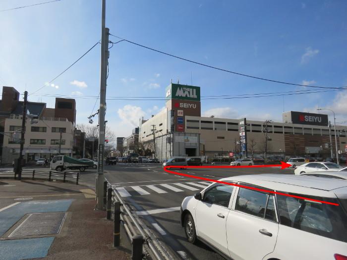 ララガーデン駐車場(東から1)