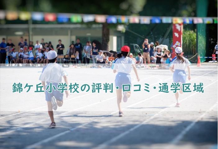 錦ケ丘小学校の評判・口コミ、通学区域