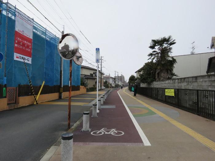 薬師堂駅から若林区役所(のびすく若林)2