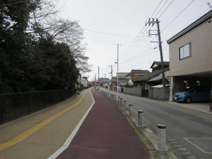 薬師堂駅から若林区役所(のびすく若林)5