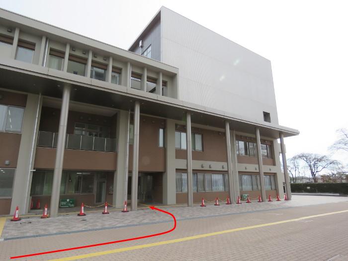 薬師堂駅から若林区役所(のびすく若林)8